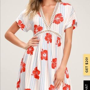 Lulus tropical cover up